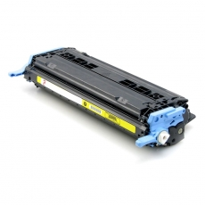 Q6002A Compatible Hp 124A Yellow Toner (2000 pages) for Color LaserJet 1600, 2600n, 2605dn, 2605dtn, CM1015, CM1017