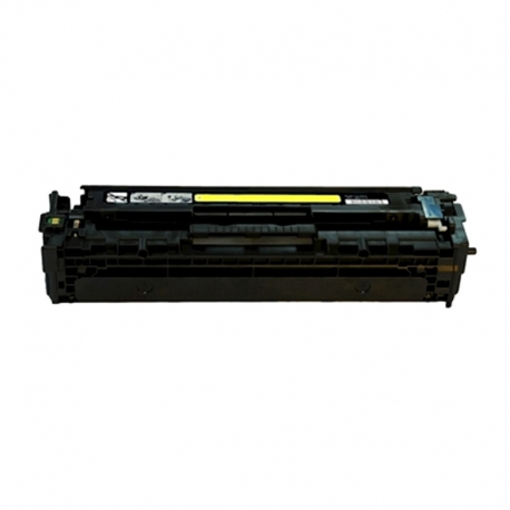 CB542A Compatible Hp 125A Yellow Toner (1400 pages) for Color LaserJet CM1312 MFP, CM1312nfi, CP1215, CP1515n, CP1518ni