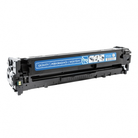 CE321A Συμβατό Hp 128A Cyan (Κυανό) Τόνερ (1300 σελίδες) για Color LaserJet Pro CP1525n, Pro CP1525nw, CP1415fn