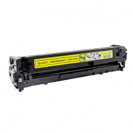 CE322A Compatible Hp 128A Yellow Toner (1300 pages) for Color LaserJet Pro CP1525n, Pro CP1525nw, CP1415fn
