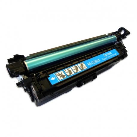 CE401A Compatible Hp 507A Cyan Toner (6000 pages) for Color Enterprise 500 M575, M575d, M551dn, LaserJet Pro 500 M570dn