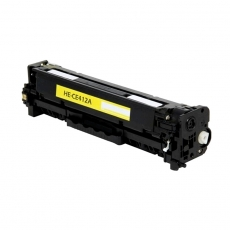 CE412A Συμβατό Hp 305A Yellow (Κίτρινο) Τόνερ (2600 σελ.) για HP LaserJet Pro M351a, M375nw, Pro 400 M451dn, M451nw, M475dn