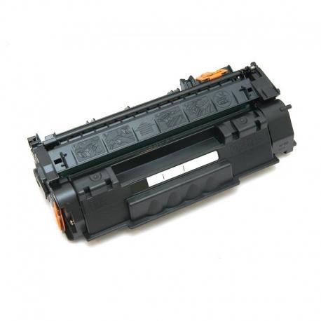 Q7553A Συμβατό Hp 53A Black (Μαύρο) Τόνερ (3000 σελ.) για LaserJet P2015, P2015d, P2015dn, P2014, P2014d, M2727nf, M2727nfs