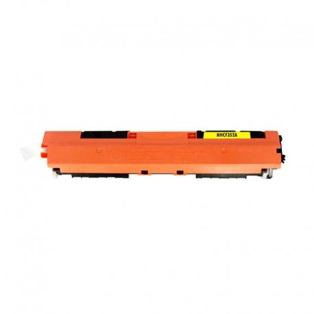 CF352A Συμβατό Hp 130A Yellow (Κίτρινο) Τόνερ (1000 σελ.) για Color LaserJet Pro MFP M176n, Color LaserJet Pro MFP M177fw