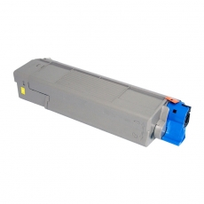 43872305 Compatible Oki Yellow Toner (2000 pages)