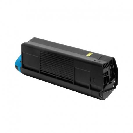 42804513 Compatible Oki Yellow Toner (3000 p) for C3000, C3100, C3200