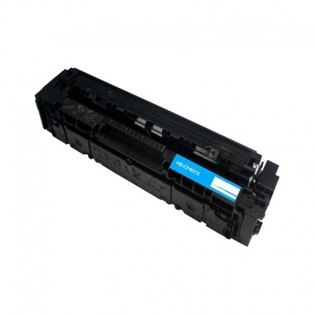 CF401X Compatible Hp 201X Cyan Toner (2300 pages) for Hp Color LaserJet Pro M252n, M252dw, MFP M277n, MFP M277dw