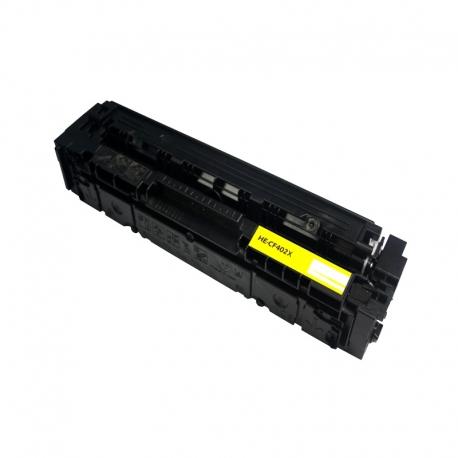 CF402X Compatible Hp 201X Yellow Toner (2300 pages) for Hp Color LaserJet Pro M252n, M252dw, MFP M277n, MFP M277dw