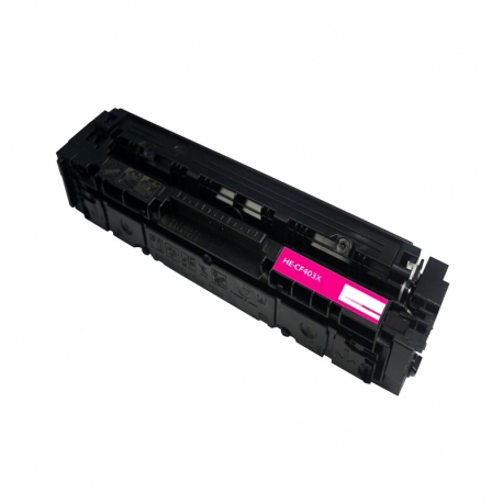 CF403X Compatible Hp 201X Magenta Toner (2300 pages) for Hp Color LaserJet Pro M252n, M252dw, MFP M277n, MFP M277dw