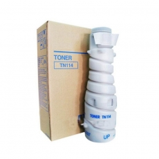 TN114 Compatible Konica Minolta 8937784  Black Toner (11000 pages) for Bizhub 162, 210, 163, 211
