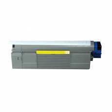 43865721 Compatible Oki Yellow Toner (6000 pages)