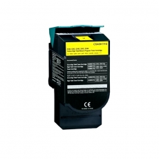 C540H1YG Compatible  Lexmark Yellow Toner (2000 pages) for C 540, C543, C544, X543, X544, C546, X546, X540, X548