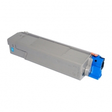 46490607 Compatible Oki Cyan Toner (6000 pages)