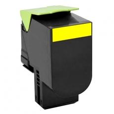 80C2HY0 Συμβατό τόνερ Lexmark 802HY Yellow (Κίτρινο), (3000 σελ.)