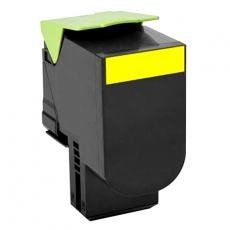 80C2SY0 Compatible Lexmark 802SY Yellow Toner (2000 pages)
